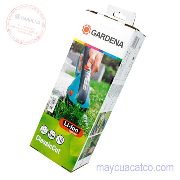 may-cat-tia-co-cam-tay-chay-pin-gardena-8885-chinh-hang-gia-re 4